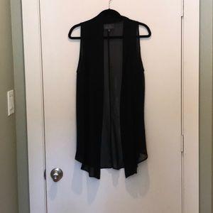 Sheer vest